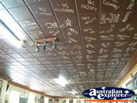 Bombala One of the Hotels Ceilings . . . CLICK TO ENLARGE