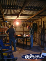 Inside Workshop at Tenterfield . . . CLICK TO ENLARGE