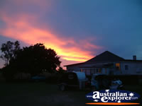 Tenterfield with Colourful Evening Sky . . . CLICK TO ENLARGE