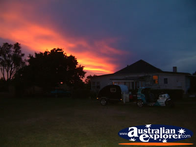 House in Tenterfield at Dawn . . . VIEW ALL TENTERFIELD PHOTOGRAPHS