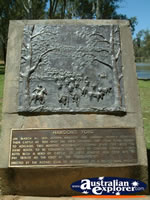 Wentworth Cattle Crossing Memorial . . . CLICK TO ENLARGE