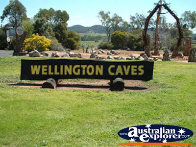 Wellington Caves Sign . . . VIEW ALL WELLINGTON CAVES PHOTOGRAPHS