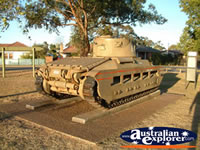 Tank on Display in Singleton . . . CLICK TO ENLARGE