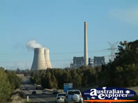Power Plant on the Way to Muswellbrook . . . CLICK TO ENLARGE