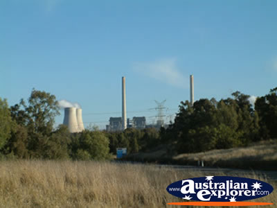 Muswellbrook Another View of the Power Plant . . . CLICK TO VIEW ALL MUSWELLBROOK POSTCARDS