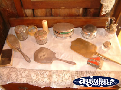 Bingara Museum Dressing Table . . . CLICK TO VIEW ALL BINGARA MUSEUM POSTCARDS