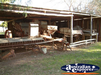 Outdoor Shed at Bingara Museum . . . VIEW ALL BINGARA MUSEUM PHOTOGRAPHS