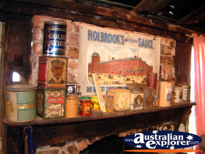Bingara Museum Old Fashioned Food . . . CLICK TO VIEW ALL BINGARA MUSEUM POSTCARDS
