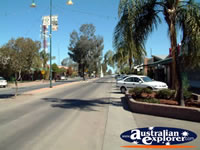View Down Walgett Main Street . . . CLICK TO ENLARGE
