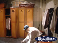 Bowral Bradman Museum Dressing Room . . . CLICK TO ENLARGE