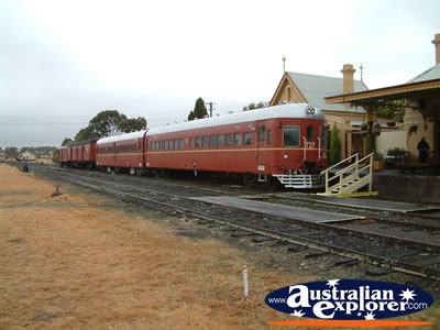 4wd Car Rental >> TENTERFIELD RAILWAY MUSEUM TRAIN AT STATION PHOTOGRAPH ...