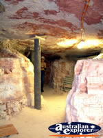 Lightning Ridge, Walk in Mine Underground . . . CLICK TO ENLARGE