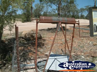 Lightning Ridge, Walk in Mine Equipment . . . CLICK TO ENLARGE