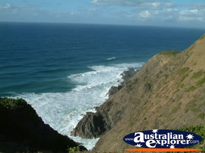 View from Byron Bay Lighthouse . . . VIEW ALL POINT DANGER PHOTOGRAPHS