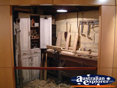 Bowral Bradman Museum Bat Making Workshop . . . CLICK TO VIEW ALL BOWRAL POSTCARDS