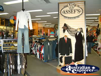 Moree Assefs Store Clothing Sections . . . CLICK TO ENLARGE