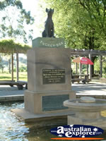 Statue at Gundagai, Dog on the Tuckerbox . . . CLICK TO ENLARGE