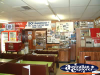 Inside of Gundagai Niagara Cafe . . . CLICK TO ENLARGE