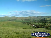 Gundagai, The picturesque view from the Lookout . . . CLICK TO ENLARGE