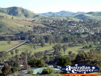 Gundagai, The city view from the Lookout . . . CLICK TO ENLARGE