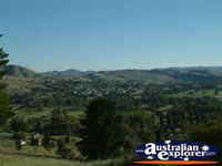 Gundagai's Lookout View . . . CLICK TO ENLARGE