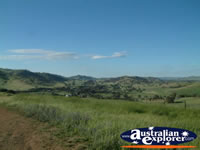 Gundagai, The view from the Lookout . . . CLICK TO ENLARGE