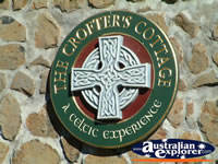 The Crofters Cottage Emblem in Glen Innes, Celtic Country . . . CLICK TO ENLARGE
