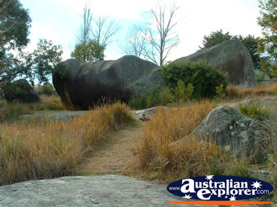 Area of Glen Innes, Near The Caravan Park . . . VIEW ALL GLENN INNES PHOTOGRAPHS