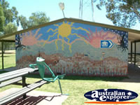 Balranald Frog Statue . . . CLICK TO ENLARGE