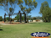Balranald Caravan Park Entrance . . . CLICK TO ENLARGE