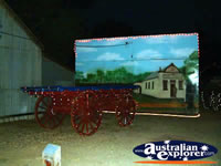 Jerilderie Dobook Inn Carraige and Mural . . . CLICK TO ENLARGE