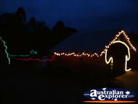 Jerilderie Dobook Inn Christmas Lights . . . CLICK TO ENLARGE