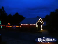 Jerilderie Dobook Inn at Night . . . CLICK TO ENLARGE