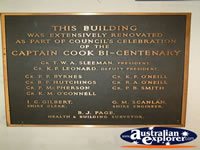 Jerilderie Museum Plaque . . . CLICK TO ENLARGE