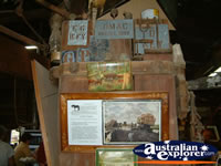 Ned Kelly Blacksmith Shop Display in Jerilderie . . . CLICK TO ENLARGE