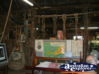 Inside View of Ned Kelly Blacksmith Shop . . . CLICK TO ENLARGE