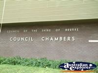 Bourke Council Chambers . . . CLICK TO ENLARGE
