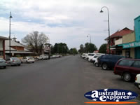 Bourke Main Street . . . CLICK TO ENLARGE