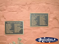 Mulga Creek Plaques, Between Bourke and Nyngen . . . CLICK TO ENLARGE