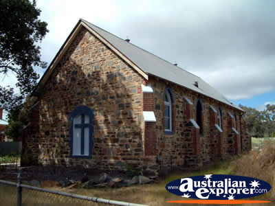 St Augustine's Anglican Church Bethungra . . . CLICK TO VIEW ALL BETHUNGRA POSTCARDS