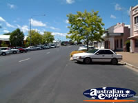 Sunny shot of Cootamundra Street . . . CLICK TO ENLARGE