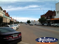 Quiet Cootamundra Street . . . CLICK TO ENLARGE