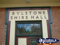 Rylestone Shire Hall . . . CLICK TO ENLARGE