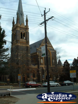 Armidale Cathedral Outside View . . . VIEW ALL ARMIDALE PHOTOGRAPHS