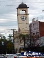 Gunnedah Town Clock . . . CLICK TO ENLARGE
