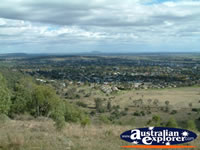 Landscape from Porcupine Lookout, Gunnedah . . . CLICK TO ENLARGE