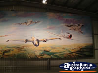Temora Aviation Museum Painted Mural . . . CLICK TO ENLARGE