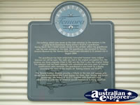 Temora Aviation Museum Plaque . . . CLICK TO ENLARGE