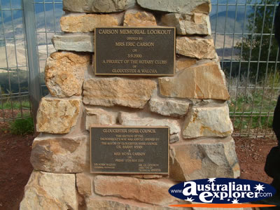 Pioneer Lookout Plaques . . . VIEW ALL PIONEER PHOTOGRAPHS