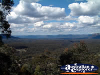 View of Lithgow, Blue Mountains . . . CLICK TO ENLARGE